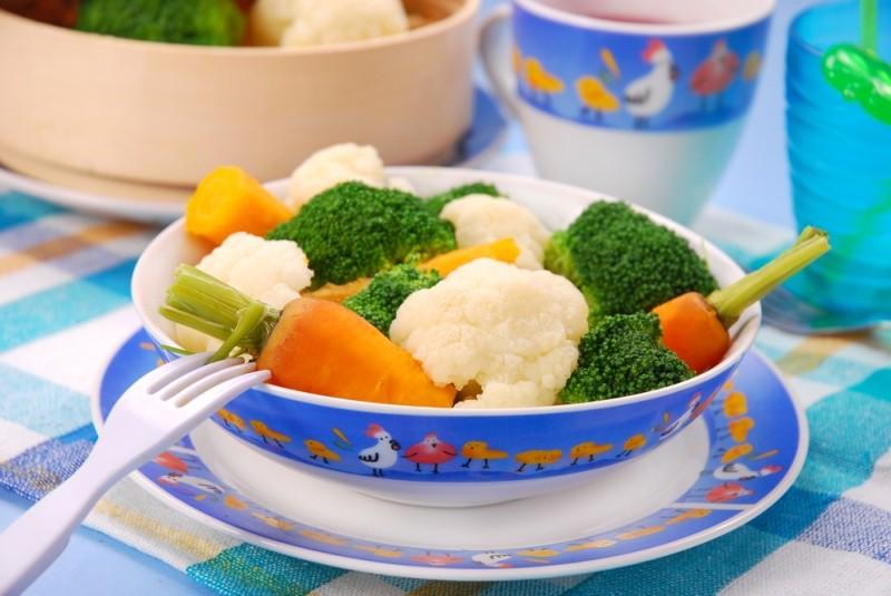 Признаки готовности к вводу прикорма, часть 2, овощи